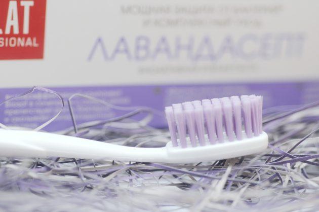 Мягкая зубная щетка СПЛАТ