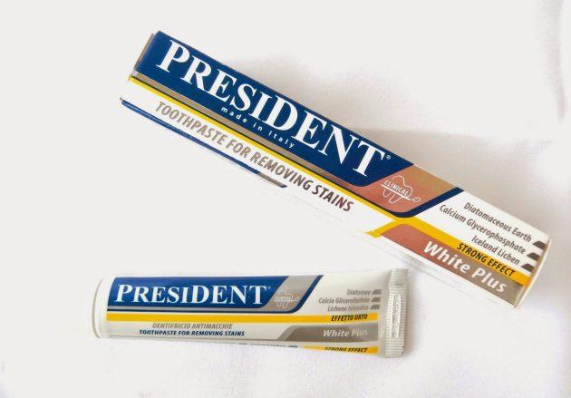 Зубная паста Президент White Plus