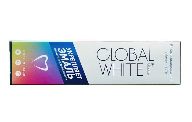 Зубная паста от зубного камня Global White