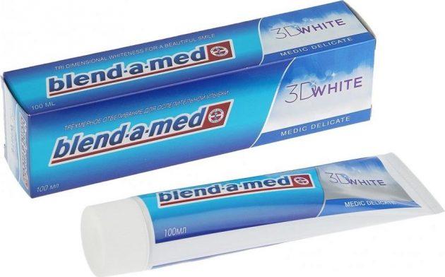Blend-a-Med присутствует в рейтинге отбеливающих паст