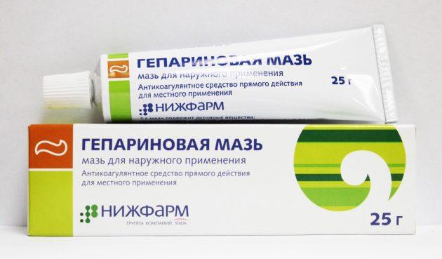 Гепариновая мазь от пародонтоза