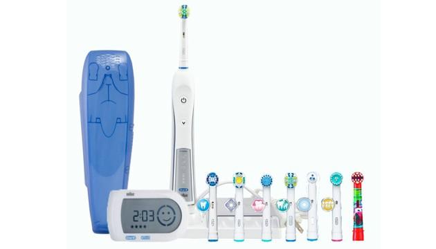 Электрическая зубная щетка для брекетов Oral-B