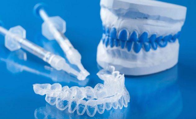 Капы для отбеливания зубов в домашних условиях