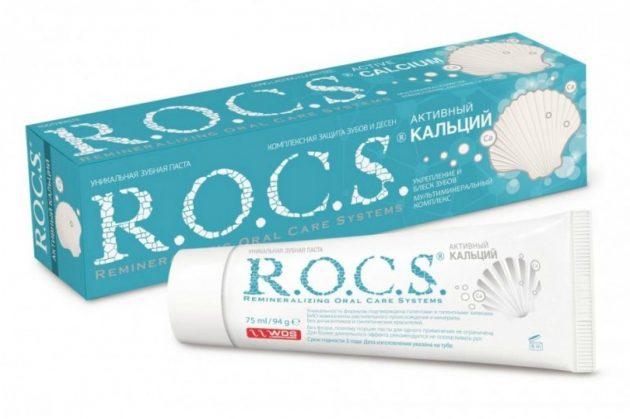 ROCS - один из лидеров рейтинга зубных паст