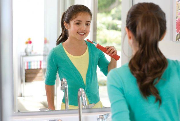 Ультразвуковая зубная щетка может использоваться детьми