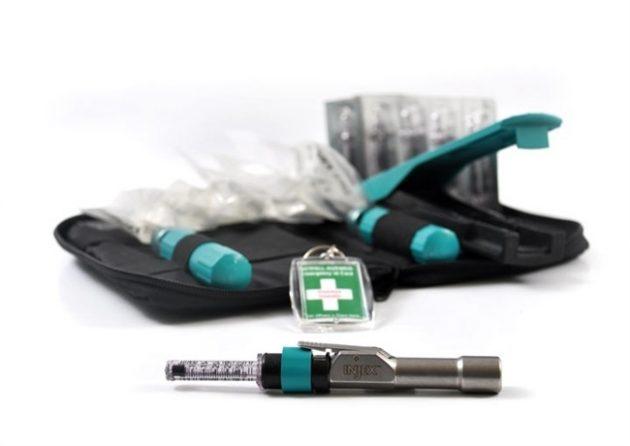 Безыгольный инъектор для проведения местной анестезии в стоматологии