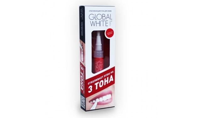 карандаш для отбеливания зубов Global White