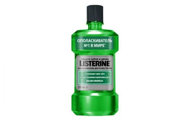 Ополаскиватель для зубов Listerine
