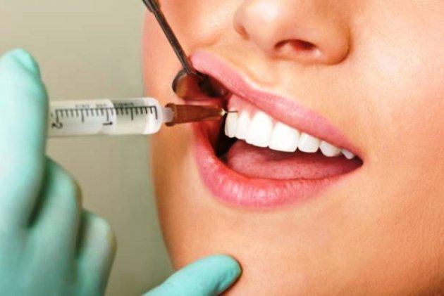отбеливание зубов без