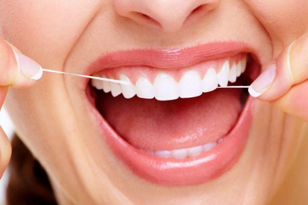 как удалить зубной камень в домашних условиях зубной нитью