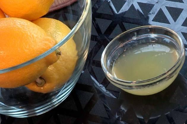 как удалить зубной камень в домашних условиях соком лимона