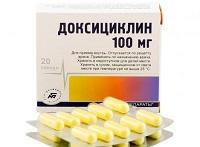 Доксициклин - антибиотик при флюсе