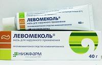 Левомеколь - антибиотик при флюсе