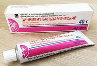 Мазь Вишневского (линимент бальзамический по Вишневскому) - антибиотик при флюсе